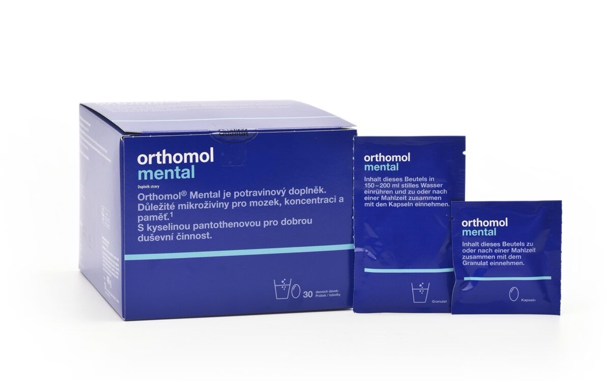 Orthomol mental granulat kapslen web