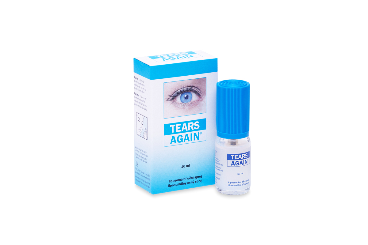 Tears Again ocni sprej s lipozomy